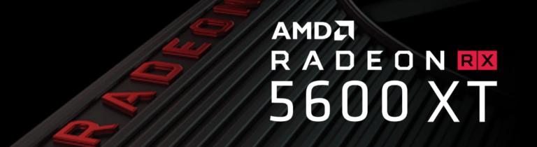 AMD Radeon RX 5600 XT Banner